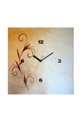Canvas and Motif Wall Clocks