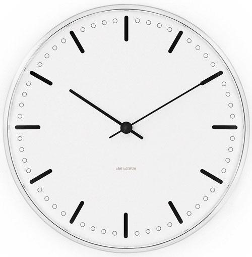 Arne Jacobsen 43621 Wall Clock On Timeshop4you Co Uk