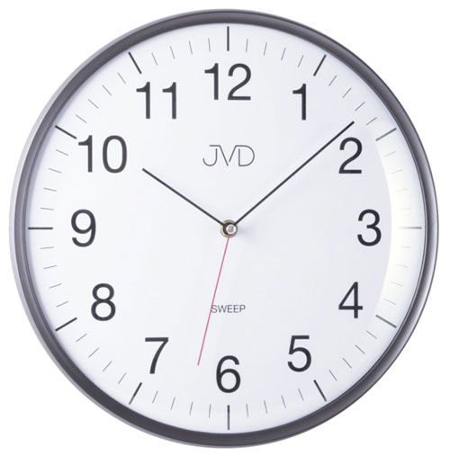 Jvd ha16 2 ger uschlose uhr wanduhr bei for Gerauschlose wanduhr