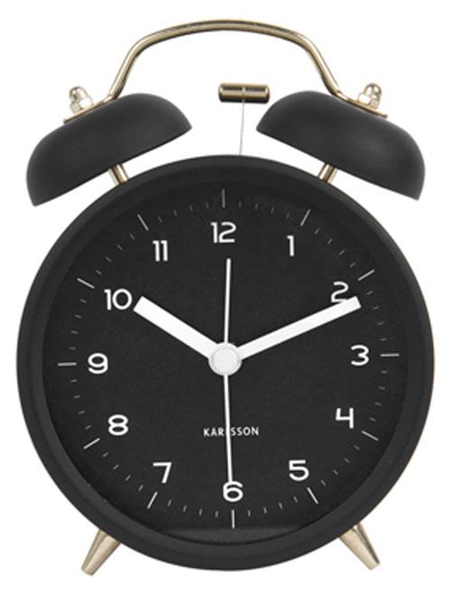 Karlsson Alarm Clocks Ka5659bk Alarm Clocks