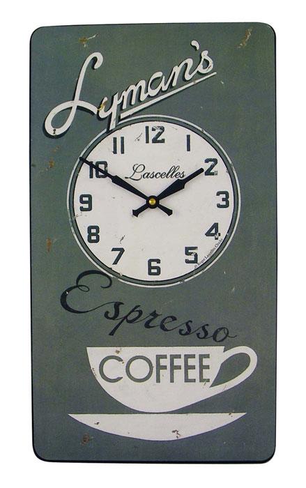 Roger lascelles pub lymans horloge mural for Horloges digitales murales