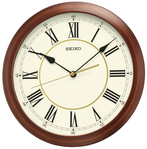 Seiko Qxa597a Wall Clock On Timeshop4you Co Uk