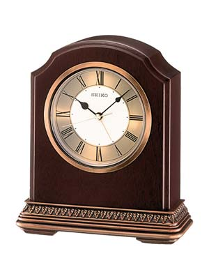 Seiko QXE018B Table Clock